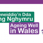 ageing well in Wales logo