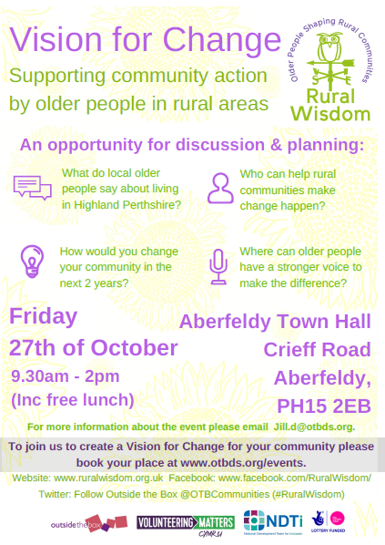 vision for change event poster