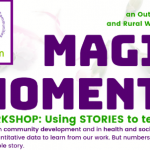 Flier for magic moments workshop event